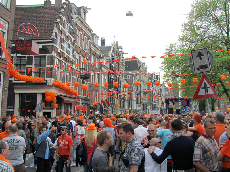 Queen's Day alongside Amstel in 2012
